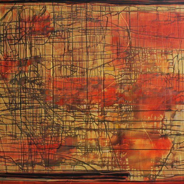 """Destino oculto"" / óleo sobre bastidor / 120x150 cm"