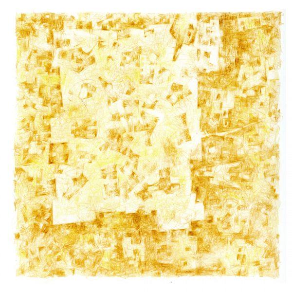 """Usina de Belleza"" / lápiz color sobre papel / 60x54 cm enmarcado"