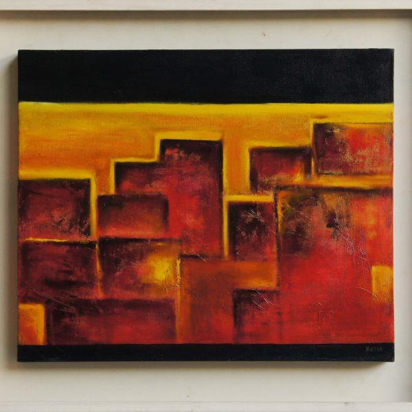 """""""Marruecos"""" / óleo sobre bastidor / 66x76 cm"""