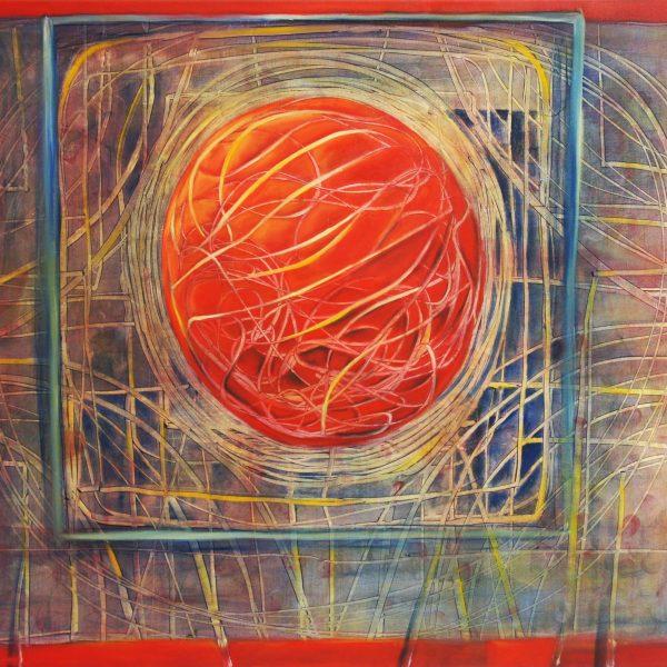 """Miedosa consciencia"" / óleo sobre bastidor / 120x100 cm"