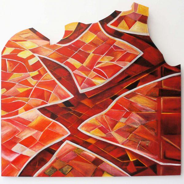 """Morea"" / óleo sobre bastidor / 140x135 cm"