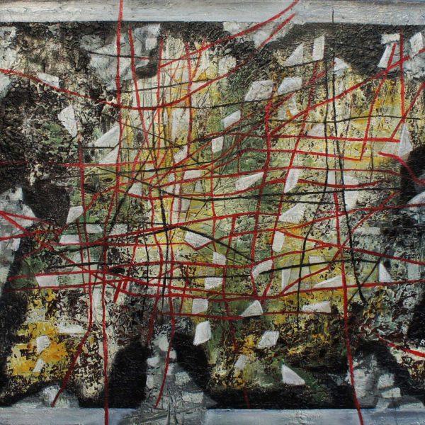 """""""Revolución"""" / óleo sobre bastidor / 70x80 cm"""