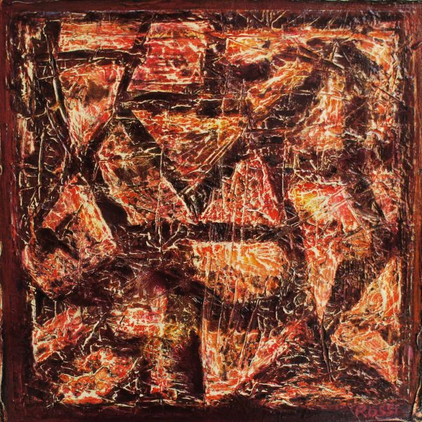 """""""Sasso"""" / óleo sobre bastidor / 30x30 cm"""