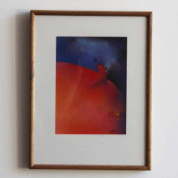 """""""S/T 4"""" / técnica pastel / enmarcada / 38x50,5 cm"""