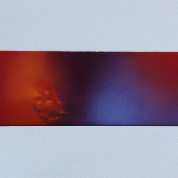 """""""S/T 5"""" / técnica pastel / con paspartú / 42x22 cm"""